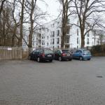 Parkplatz vor Praxis